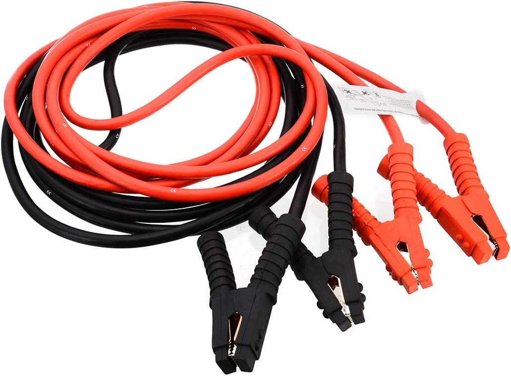 14mm Car Van Jump Leads Booster Cables Start Recovery Unizooke 2x 6M 3000AMP O.D