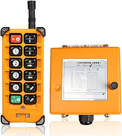 Système Télécommande Industriel Sans Fil Pour Équipement 380V CA