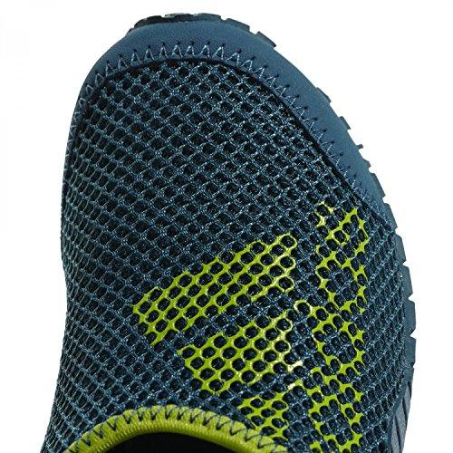 adidas Kurobe K, Zapatillas de Deporte Unisex Adulto Azul (Azcere / Petnoc / Limsol 000)
