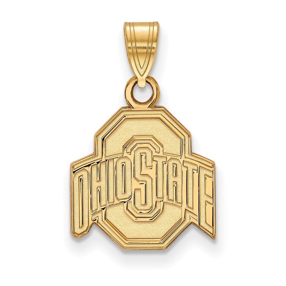 Collegiate Ohio State University 10ky LogoArt Ohio State University Small Pendant
