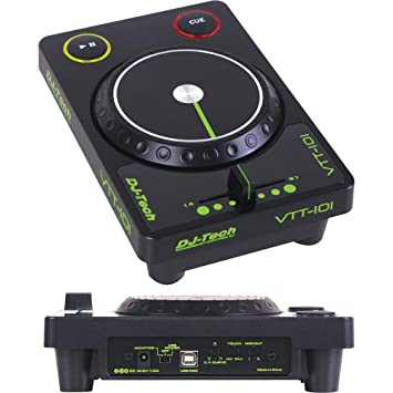 DJ TECH VTT-101 - Controlador de DJ (USB, con interfaz de audio): Amazon.es: Instrumentos musicales