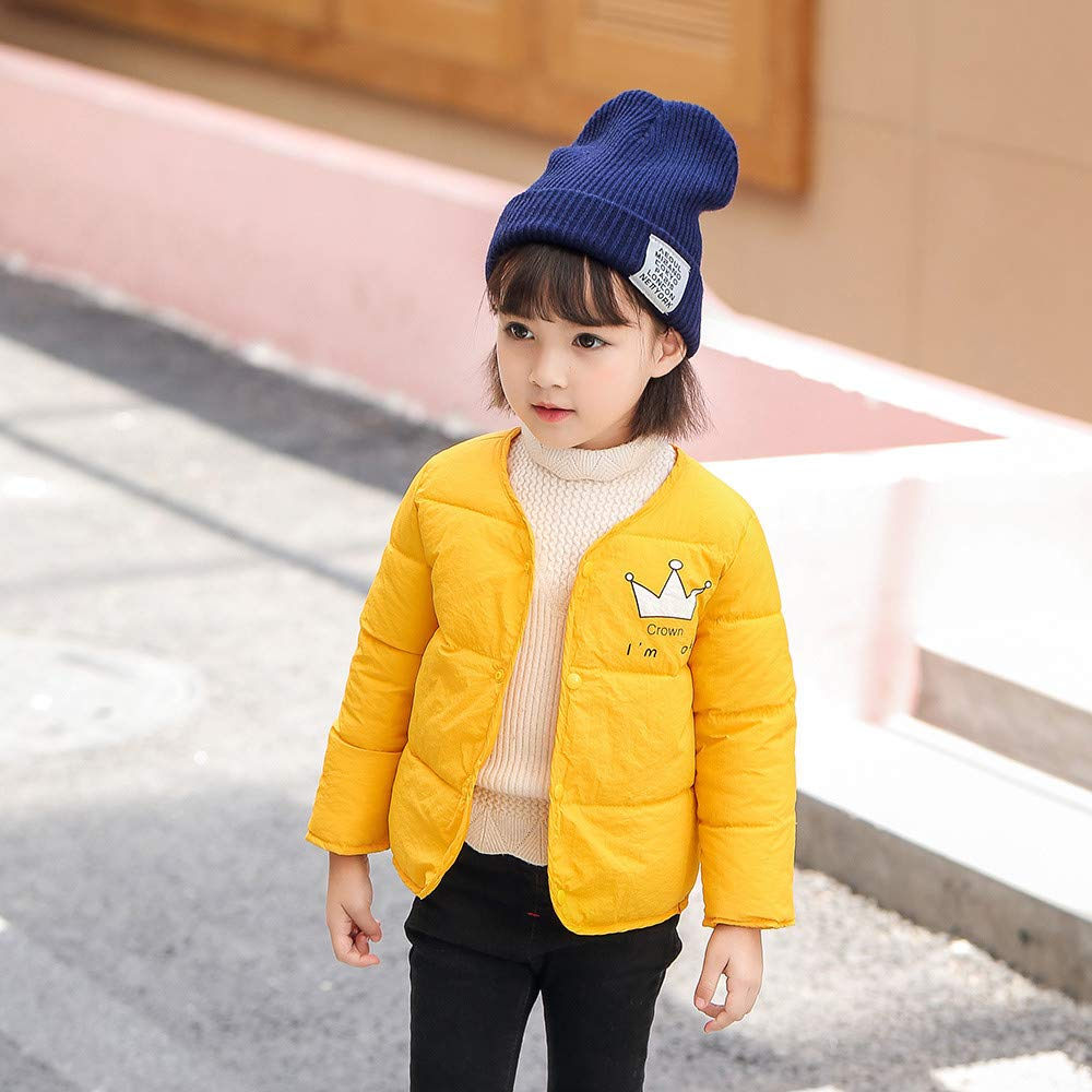 Theshy Kids Baby Girl Boy Winter Cartoon Coat Cloak Jacket Thick Warm Outerwear Clothes Coats for Baby Girl
