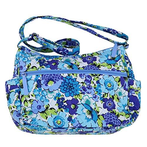 Vera Bradley On The Go Bag (One Size, Blueberry Blooms) (Vera Bradley Carryall Crossbody Vs On The Go)