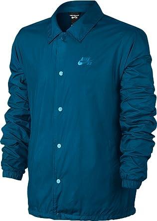 27d3c246e473 Nike Mens SB Shield Coaches Jacket Industrial Blue (Industrial Blue)  829509-457