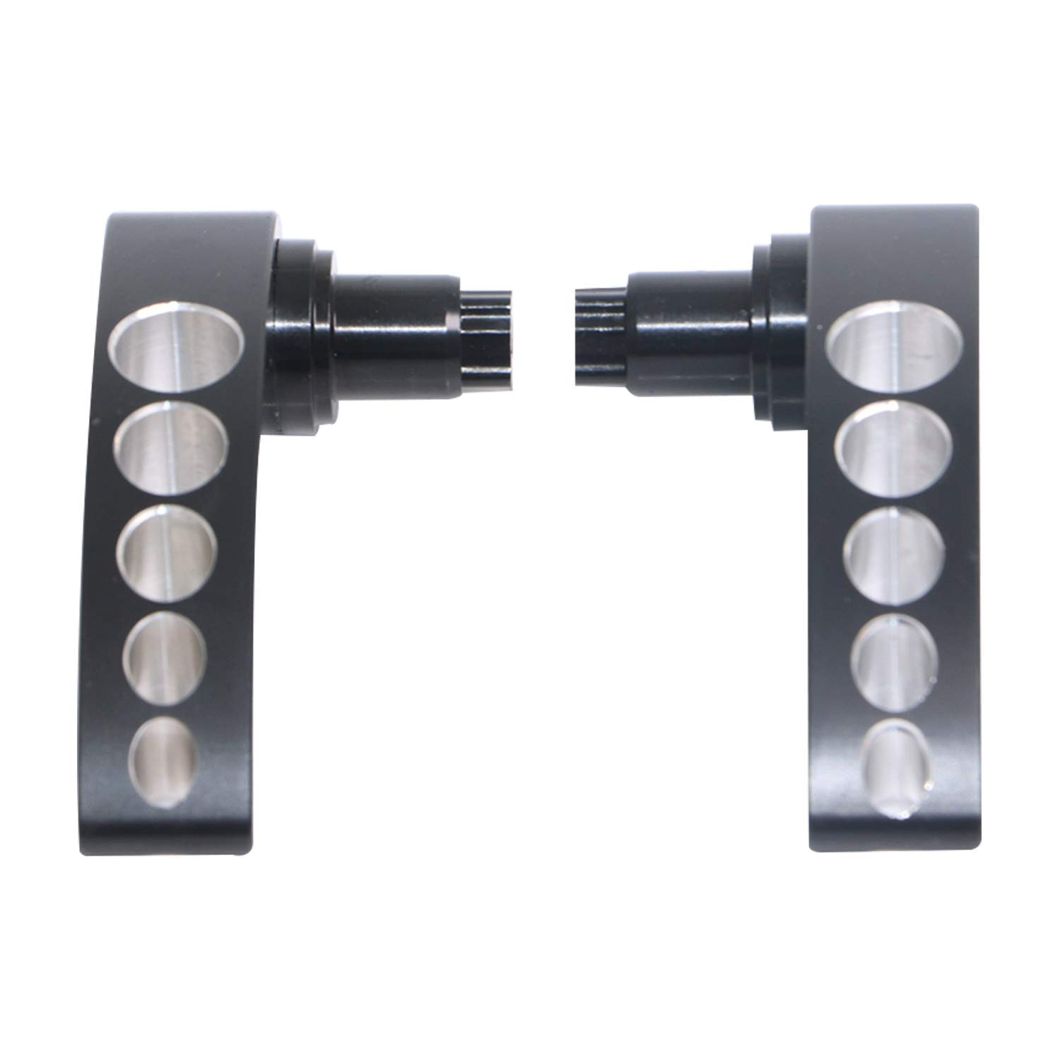 Saddlebag Lid Lifters Latch Handle Lever for Harley Touring Road King Street Glide 2014-2018