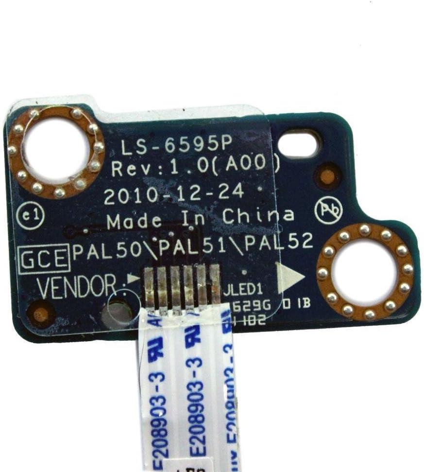 Genuine Dell Latitude E6420 LED Indicator Board LS-6595P