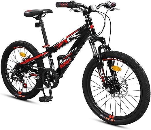 GJZM Mountain Bike Boys Mountain Bikes, Mountain Trail Bikes con ...