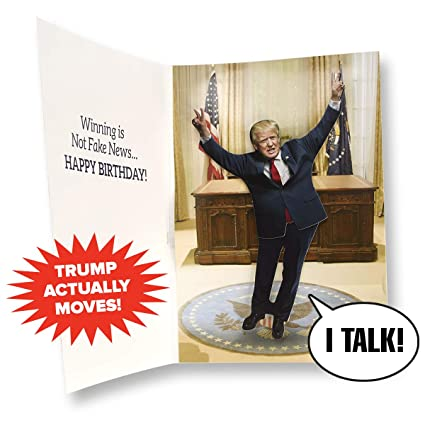Dancing Donald MOTION SOUND Birthday Card Trump Dances In Celebration When Is