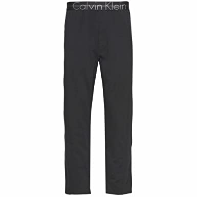 2aa02a467ad41 Calvin Klein Focused Fit PJ Pants, Black: Amazon.co.uk: Clothing