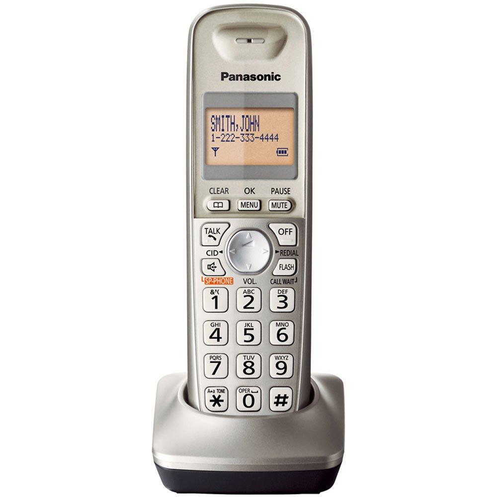 amazon com panasonic kx tga421n dect 6 0 1 handset landline rh amazon com