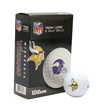 d8355c68f9100 Image Unavailable. Image not available for. Color  NFL Minnesota Vikings  Golf Ball