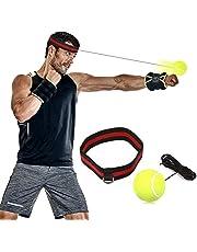 Reflejo de boxeo Ball, SGODDE Fight Ball Reflex en cadena con diadema para Fight MMA