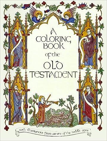 Old Testament Coloring Book Bellerophon Books 9780883880036 Amazon