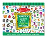 Melissa and Doug Sticker Collection – Alphabet and Numbers, Baby & Kids Zone