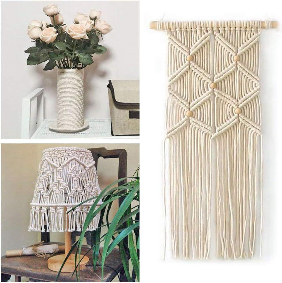 Craft it Color Blanco Cord/ón el/ástico de 3 mm 5 m