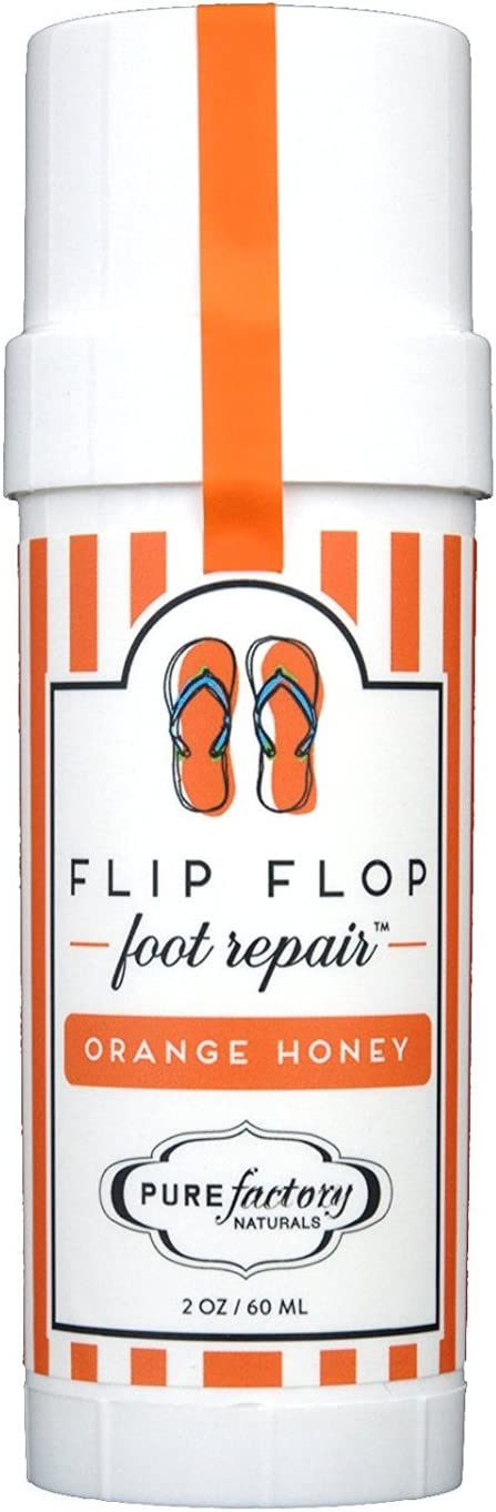 Flip Flop Foot Repair by PURE Factory - Orange Honey 2 oz. Moisturizer Feet