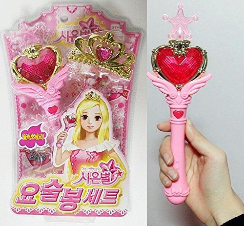 Sienbyeol Wand & Tiara Set Sailor Moon Wand Style Chibi Moon Wand Style Cosplay