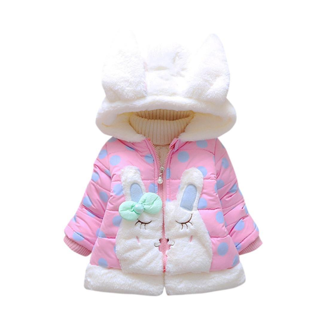 manteau bébé, Tpulling piccolo bambino ragazze autunno - inverno denso mantello giacca cappotto incappucciati vestiti caldi
