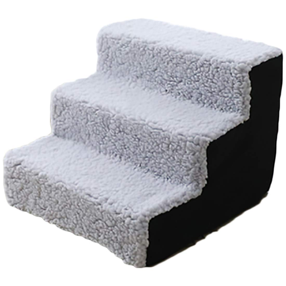 Dog Steps for High Bed Pet Stairs Dog Stairs Going Up to The Climb Ladder Dog Mat Sponge Mats Wool Family Favorite
