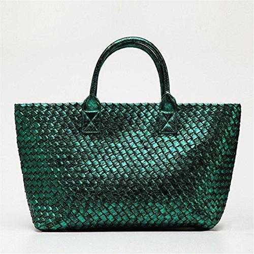 G Ladies Large Totes Big Fashion Woven Leather New Purse Shouder Handbags Quality High Bag Desiner Women Otomoll Bags 7SqfpT7