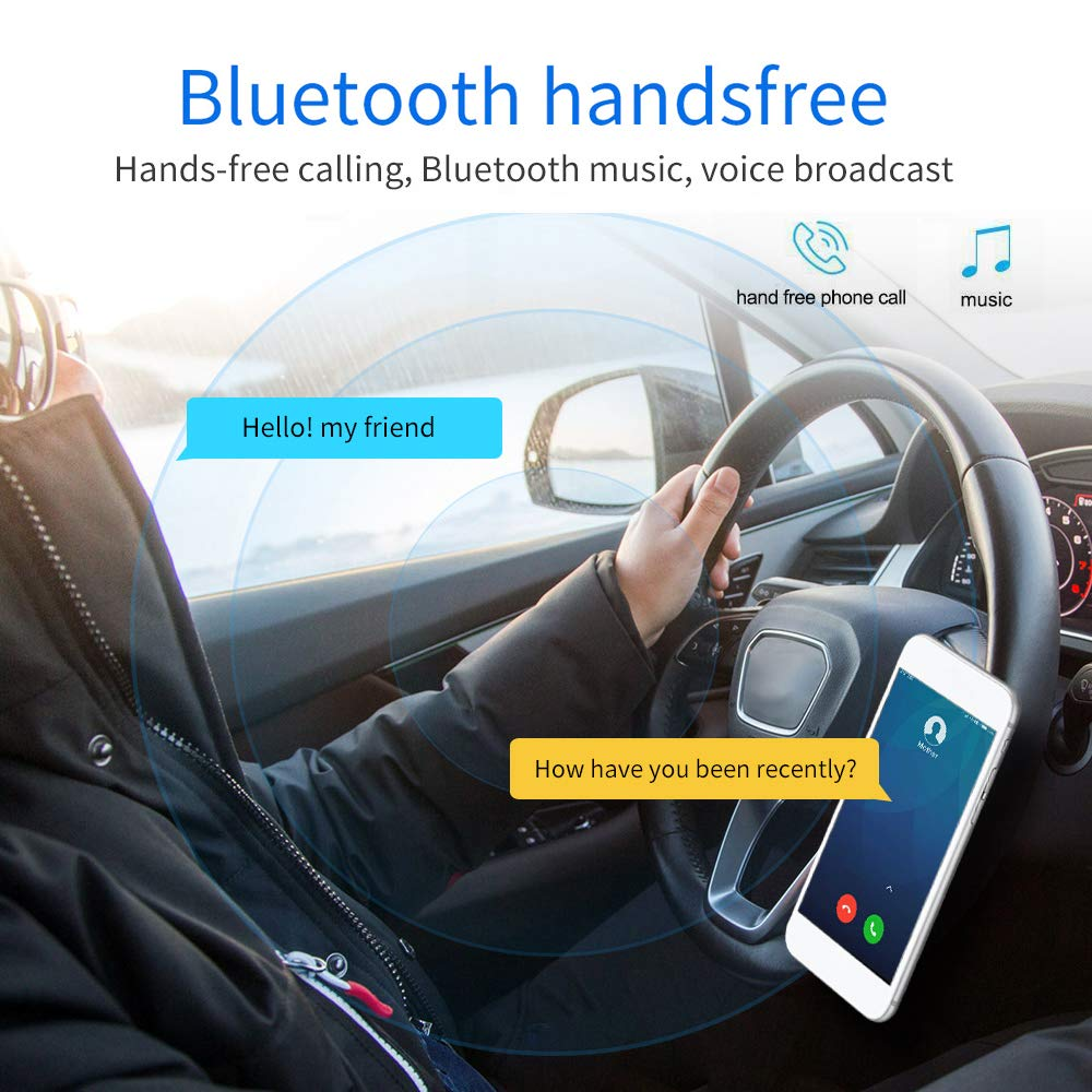 SD//TF AUX -in Car Stereo for Toyota Corolla Double Din Car Radio Audio with Bluetooth 7 Touch Screen FM Radio Car MP5 Player USB Steering Wheel Control//Remote Control Mirror Link Backup Camera