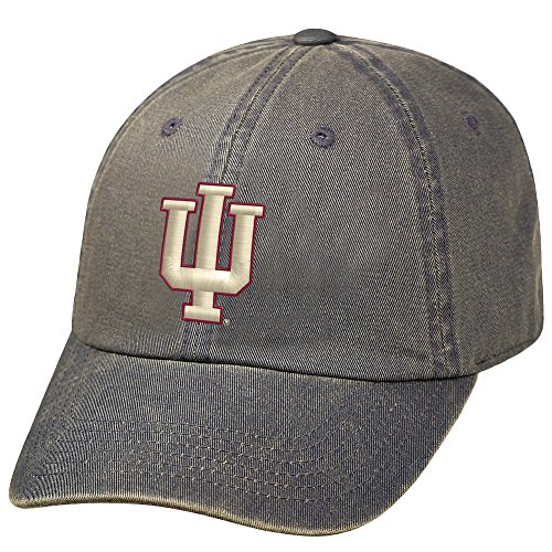 Elite Fan Shop Indiana Hoosiers Icon Charcoal Hat - Indiana University Baseball