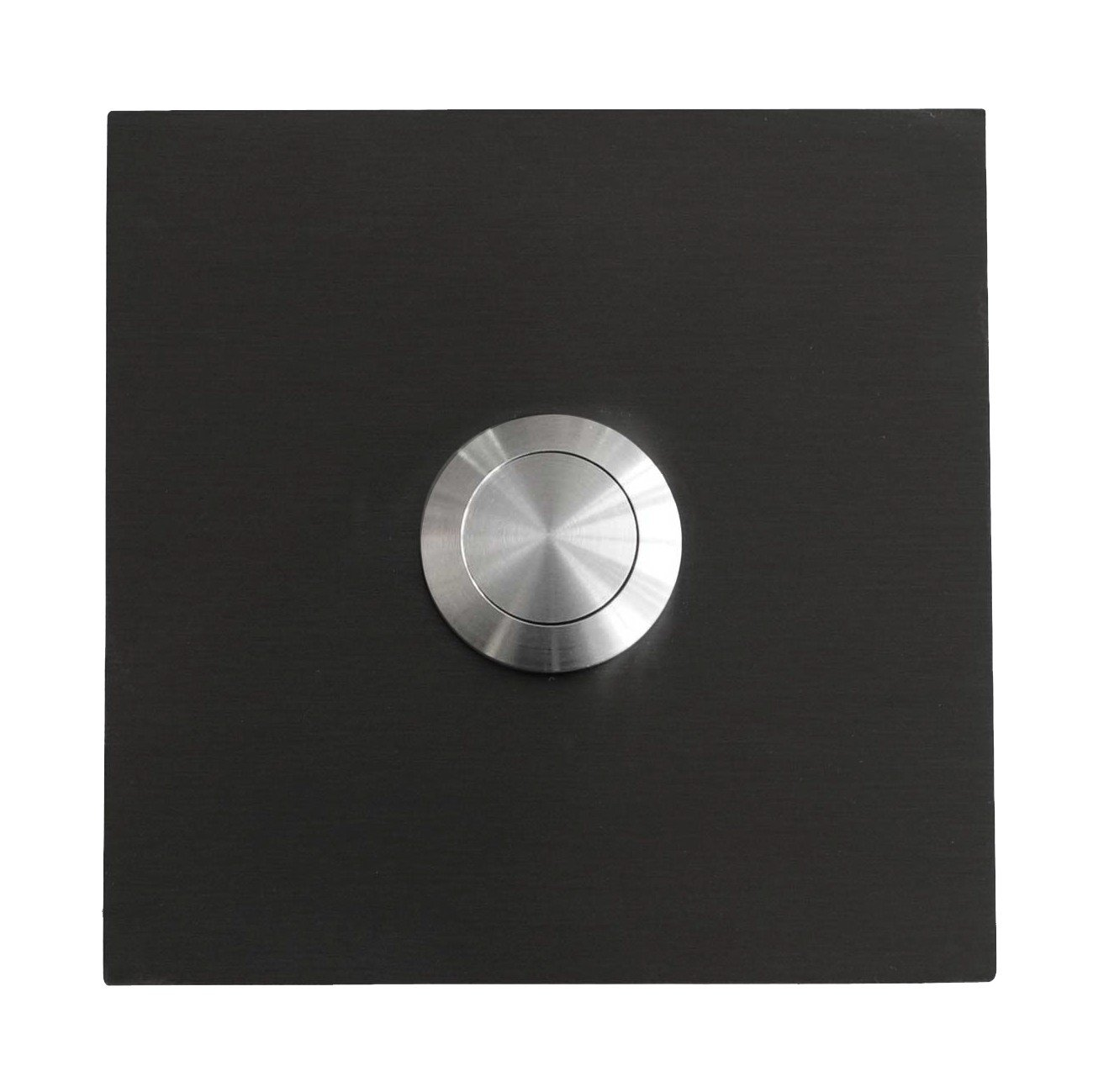 Designer Square Bell Glossy RAL 7016 Anthracite Grey Grey: Amazon.co ...