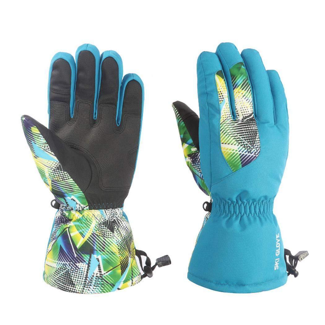 Ankidz Unisex Soft Full-Finger Waterproof Warm Cycling Gloves Outdoor Sport Gloves Gloves