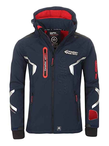 Canadian Peak Chaqueta Hombre Impermeable by Geographical Norway (XL)
