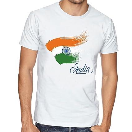 89358ce54 Buy Limit Fashion Store - Indian Flag Design Unisex T-Shirt Online ...