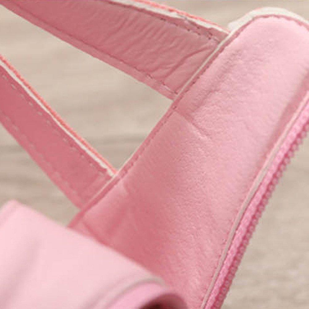 Lurryly Summer Children Girls Roman Zipper Flower Sandals Boot Princess Shoes 4-9 T