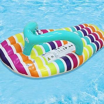 Nadar Juguetes para Fiestas Balsa Inflable Zapatilla de Agua ...