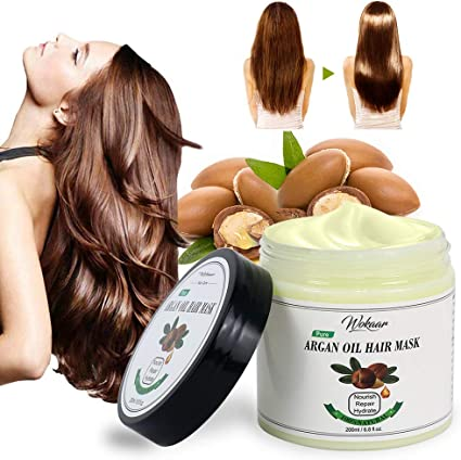 Argan Oil Hair Mask For Dry Hair Damaged Hair Dry Hair Treatment Mask Dry Hair Mask For Moisture Soothing Damaged All Natural Ingredients Repair Hair Masque For Thin Dry Damaged Coloured Hair Amazon Co Uk Beauty