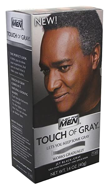 Amazon.com : Just For Men Touch Of Gray - Jet Black/Gray ...