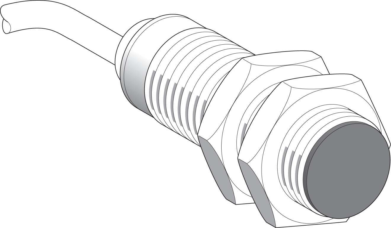 Schneider Electric XS518BSDAL2 Sensor Inductivo Xs5 M18, L39Mm, Brass, Sn5Mm, 12-24Vdc, Cable 2M: Amazon.es: Industria, empresas y ciencia