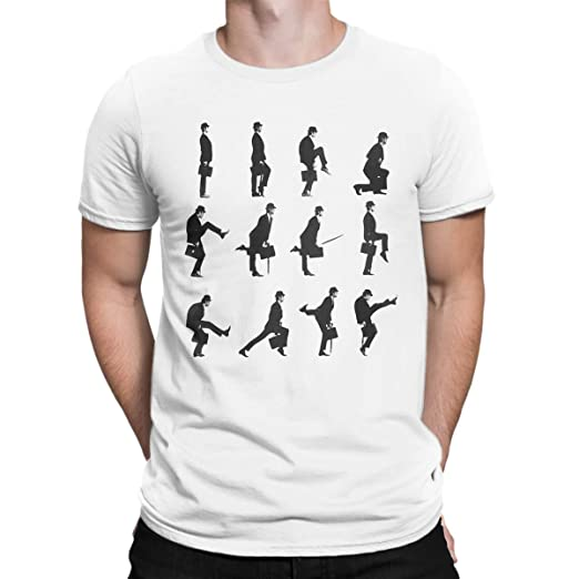 9a4c26d8 Amazon.com: FANTUCCI Unisex Monty Python T-Shirts | Ministry of Silly Walks  | XS - 3XL | Cool T-Shirts: Clothing