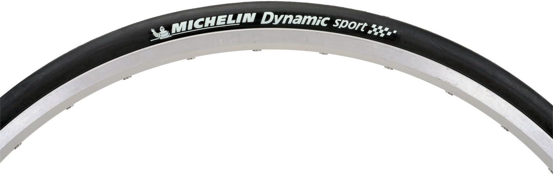 Michelin Dynamic Sport 700x25C Folding Tyre Clincher Bike Tire Full Black