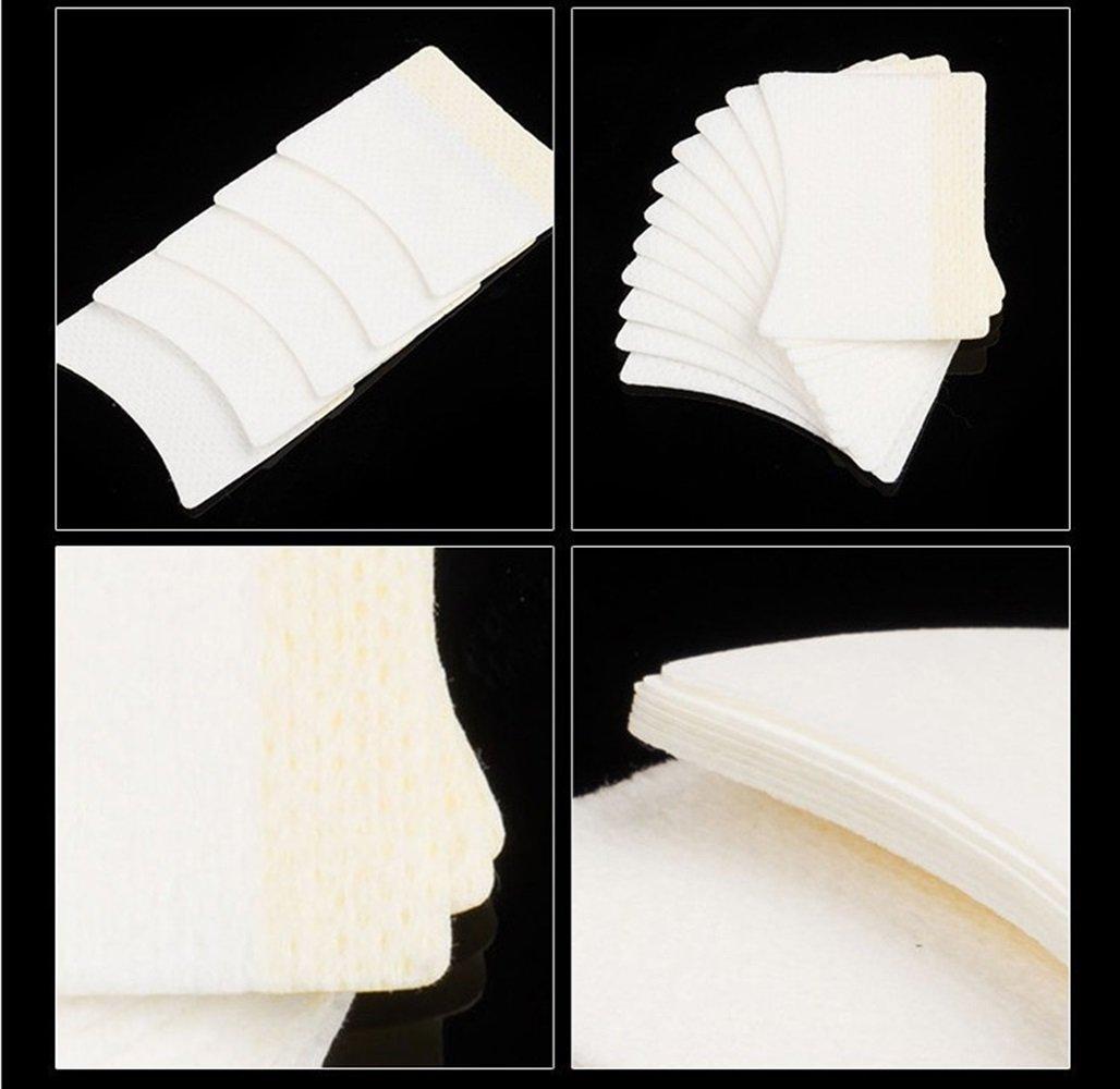 Ari/_Mao 40Pcs almohadillas para pesta/ñas extensiones de pesta/ñas Perming Tinte profesional Eye Eyelash bases de maquillaje protector de aplicaci/ón