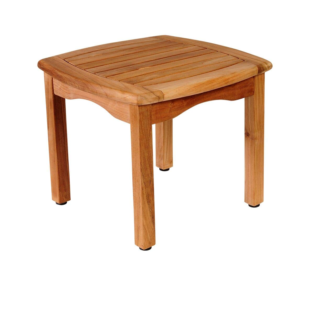 International Home Amazonia Teak Patio End Table in Brown