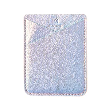Tarjeta Soporte Adhesivo, funda Tarjetero aufkle bbarer, tarjeta soporte tarjeta de crédito tarjeta de bolsillo – Cartera para Apple iPhone/Samsung ...