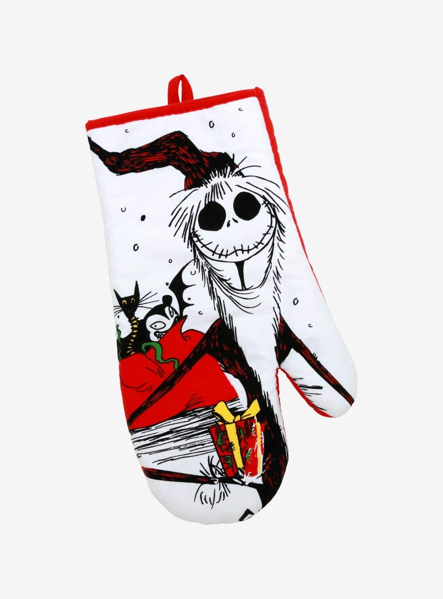 The Nightmare Before Christmas Santa Jack Oven Mitt