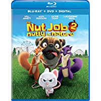 The Nut Job (2 Discs) (DVD + Blu-ray + Digital + Ultraviolet)