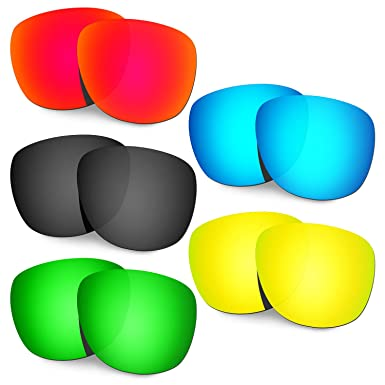 HKUCO Mens Replacement Lenses for Oakley Trillbe Red/Blue/Black/24K Gold/Emerald Green Sunglasses LsFCiEMxZN