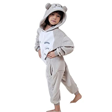 Childrens Chinchilla Pyjamas Kids Animal Pajamas Cosplay Anime Pijamas ...