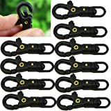 HeroNeo® 10 PCS Survival Outdoor Mini Rotatable Hang Buckle Quickdraw Key Chain EDC Tool