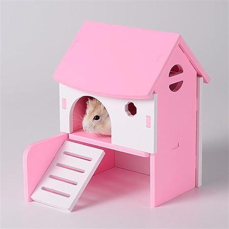 Pet Online Hamster cabaña de color diy cabaña cabañas accesorios ...