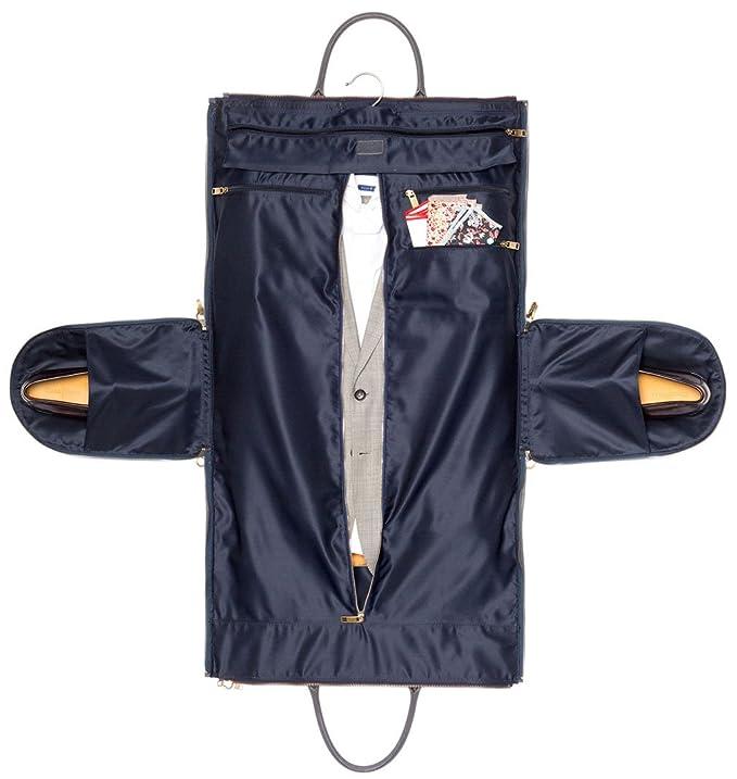 Hook + Albert Garment Weekender Bag - Open