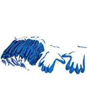 """uxcell® Industry 8.3"""""""" Long White Blue PVC Anti-Oil Working Gloves 12 Pairs"""