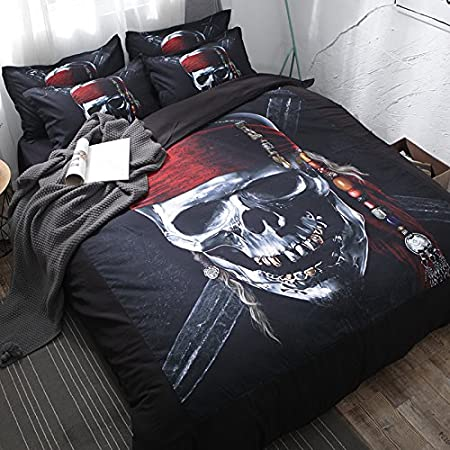 61M6U-epCGL._SS450_ Pirate Bedding Sets and Pirate Comforter Sets