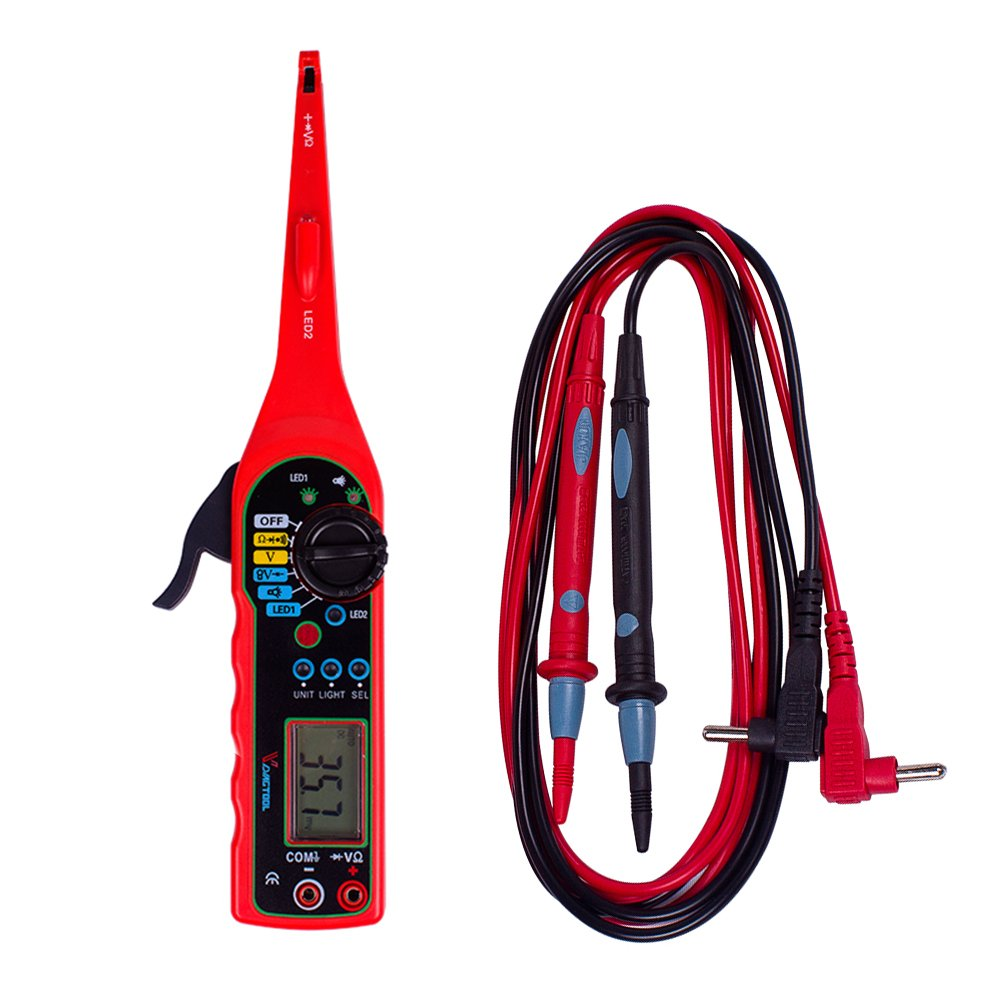 VDIAGTOOL Auto Circuit Tester MS8211 Multimeter Lamp Car Repair Automotive Electrical Circuit Testers Multimeter 0V-380V Voltage by VDIAGTOOL (Image #5)